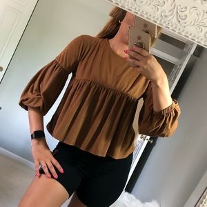 Tops - Velvet blouse